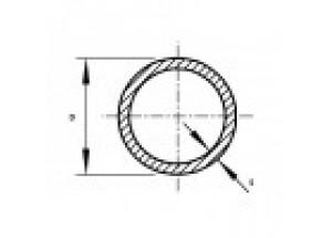 Труба алюминиевая круглая 22х1.5 мм АН Вес 0.260 кг
