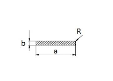 Алюминиевая полоса 50х10 мм БП