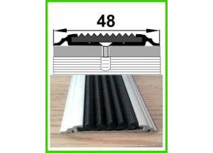 УЛ 150 - Алюминиевый порожек с антискользящей вставкой