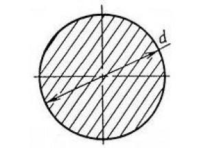 Алюминиевый круг ø6 мм АН Вес 0.077 кг