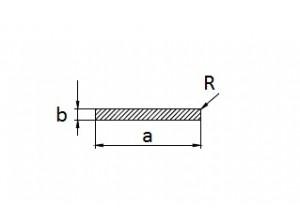 Алюминиевая полоса 20х5 мм БП